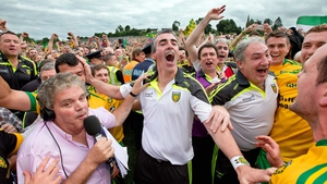 And it was Donegal and Jim McGuinness celebrating at the end