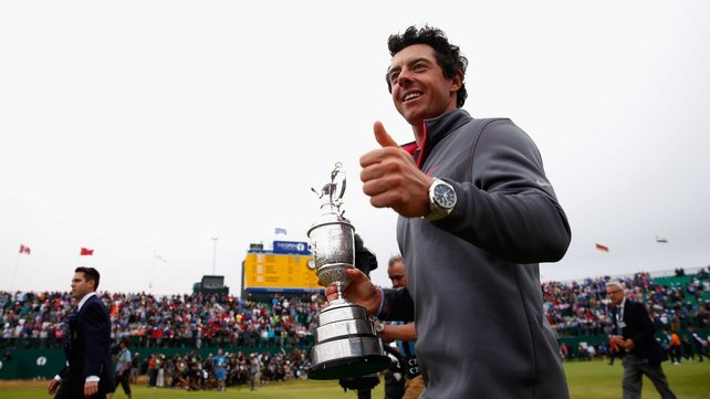 Rory McIlroy has now won three different majors