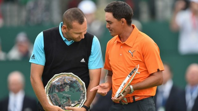 Sergio Garcia and Rickie Fowler