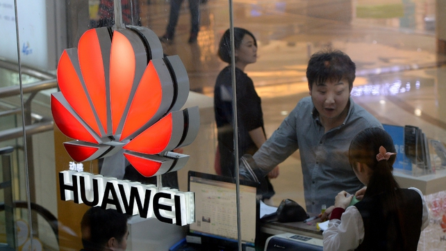 Huawei's revenue has been boosted by the company's push into the smartphone industry