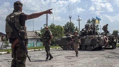 Ukraine has ruled out a ceasefire or negotiations before pro-Russian separatists give up their arms