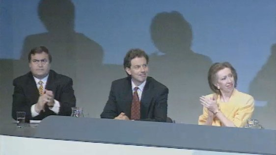 John Prescott, Tony Blair and Margaret Beckett