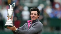Rory McIlroy wins the British Open and his third major title
