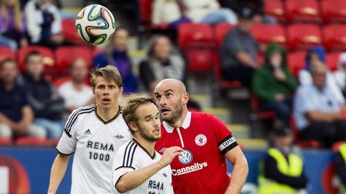 Sligo Rovers hold a 2-1 advantage going into the second leg
