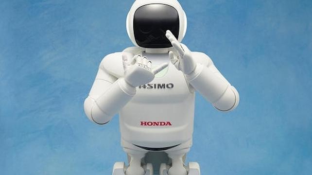 ASIMO now thinks!
