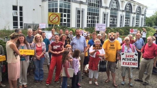 Kilkenny protest continues over new road