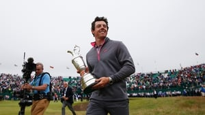 Rory McIlroy insists he has no thoughts of chasing down Jack Nicklaus' record haul of major titles