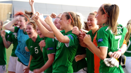 Ireland topped their group following three straight victories