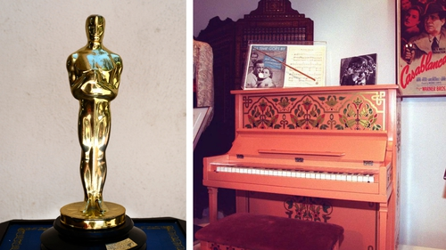 The Oscar director Michael Curtiz won for Casablanca and the piano played in the movie
