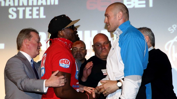 Dereck Chisora and Tyson Fury clashed at a recent press conference