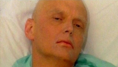 Alexander Litvinenko from his deathbed accused President Vladimir Putin of ordering his killing