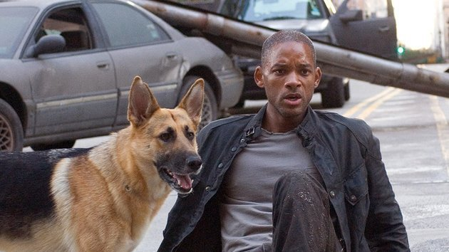 Will Smith in I Am Legend - 9:35pm, RTÉ One