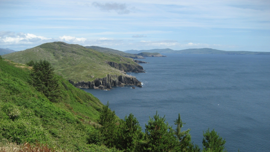 The view from the Beara Peninsula in west Cork, looking eastwards towards Bantry Bay (Pic: John Curran)
