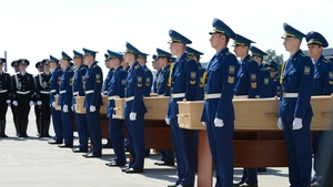 The Boeing 777 was shot down last week in eastern Ukraine en route from Amsterdam to Kuala Lumpur killing all 298 on board