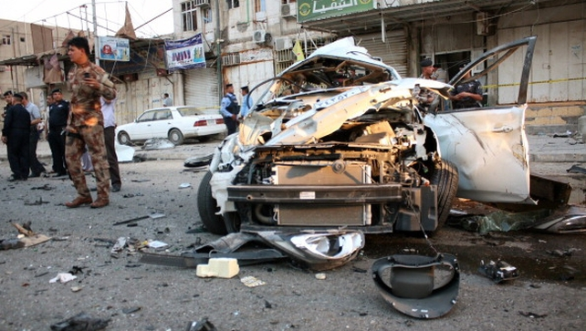The Islamic State has claimed responsibility for a wave of bombings in Baghdad