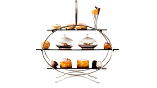 Late Afternoon Tea at the Fitzwilliam Hotel