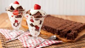 Summer Brownie Swirl
