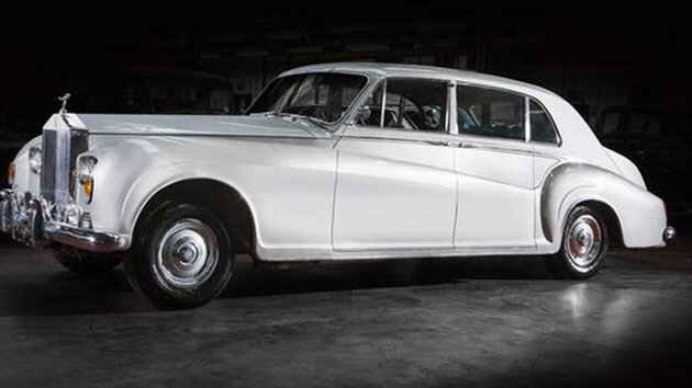Rock n Rolls: The 1963 Rolls-Royce Phantom V Touring once owned by Elvis