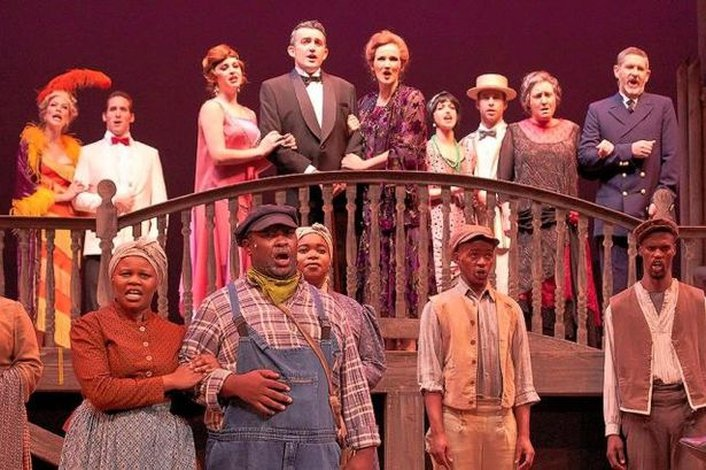 """Show Boat"" the musical"
