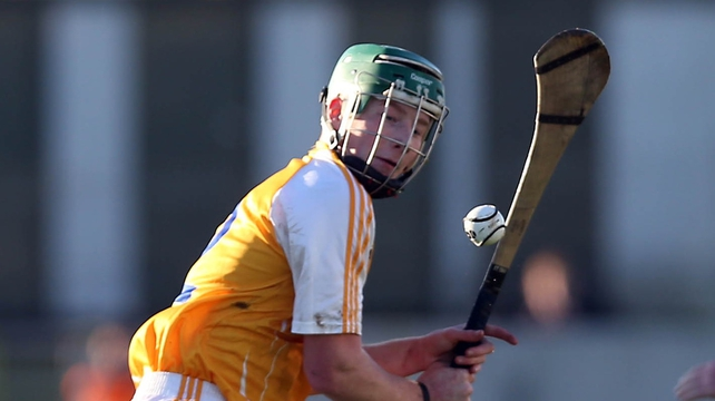 Niall McKenna was among the goals for Antrim