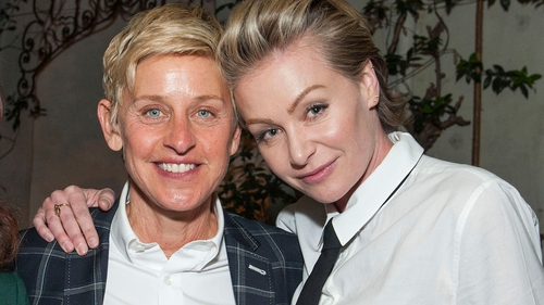 DeGeneres announced de Rossi's new Scandal role