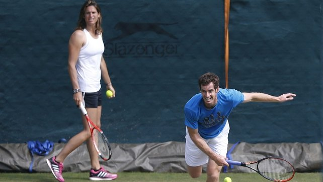 Andy Murray and Amelie Mauresmo will continue to work together