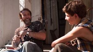 Joe: Nicolas Cage as the rough diamond who looks out for young Gary (Tye Sheridan)