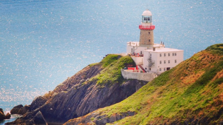Sunshine at Howth lighthouse (Pic: John Nugent)