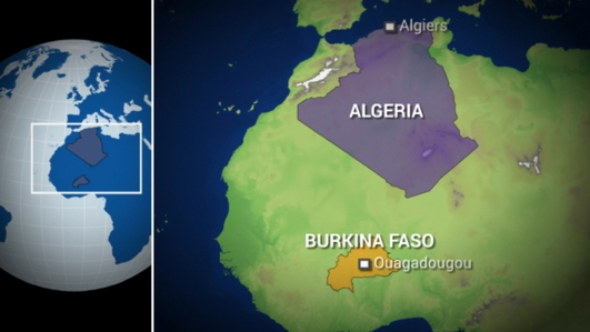 Air Algerie passenger jet crashed over Mali