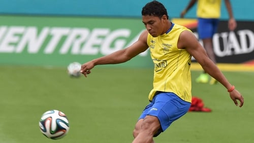 Jefferson Montero started all three of Ecuador's group games during the World Cup in Brazil