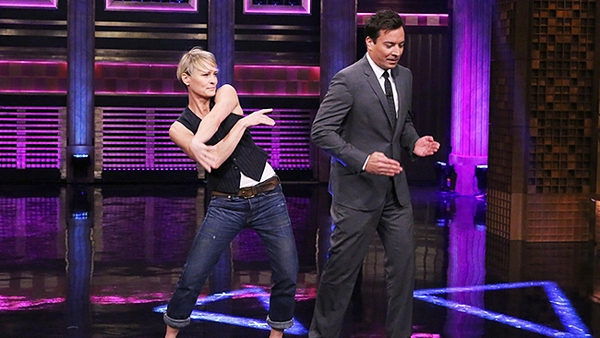 Dance-off against this lady at your peril... Photo copyright: Douglas Gorenstein/NBC