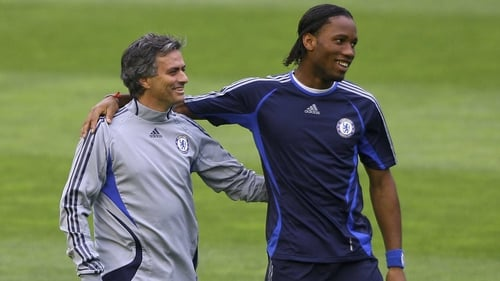 Didier Drogba spent eight seasons with Chelsea, including the first three under Jose Mourinho