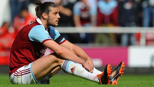 Andy Carroll has played only 16 times for West Ham since signing last summer