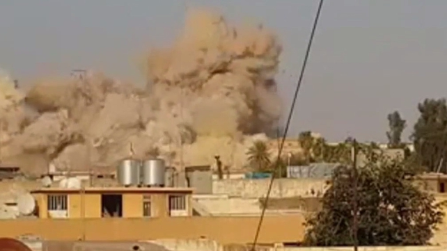 Militants from Islamic State destroyed a holy site in Mosul said to be the tomb of Jonah