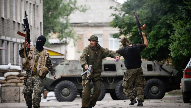 Ukraine says its pressing on with its offensive to stamp out pro-Russian rebels