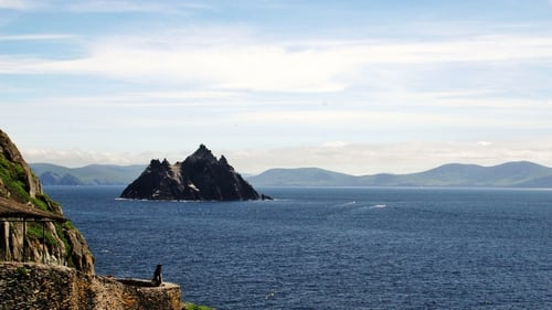 Skellig Michael in Kerry