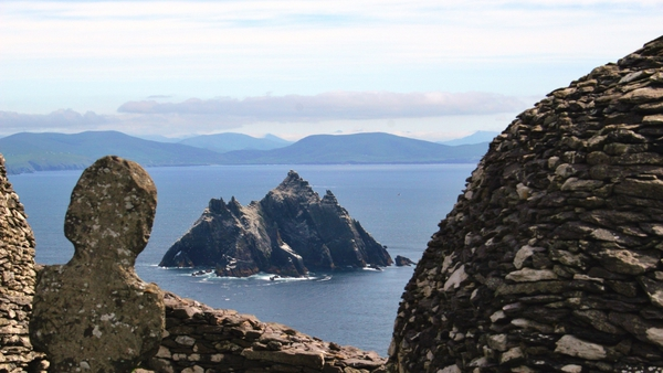 Star Wars filmed on Skellig Michael over the past two summers