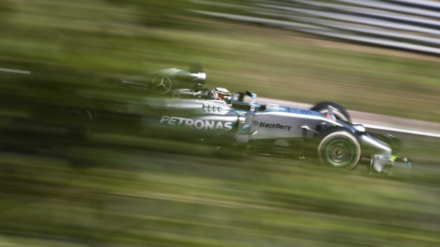Lewis Hamilton is currently tied with Michael Schumacher on four wins in the Hundarian Grand Prix