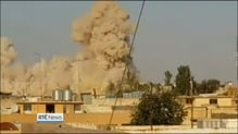 Shrine destroyed by militants in Mosul