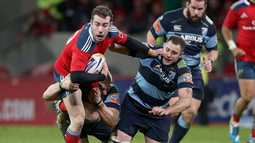 Munster are due to travel to Cardiff Arms Park to face the Blues
