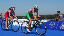 Aileen Reid was sixth in the Commonwealth Games triathlon. She spoke to 2FM's Game On