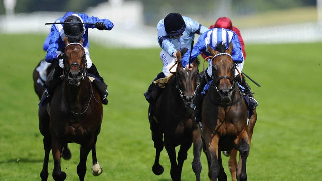 Taghrooda finished well to get up to win the King George VI And Queen Elizabeth Stakes