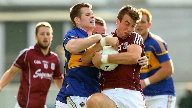 Galway and Tipp are doing battle in Tullamore