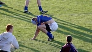 Hugh Coughlan of Tipp at the end of the game against Galway