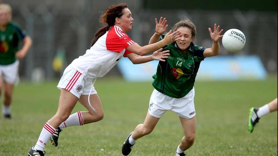 Kildare's Triona Duggan and Karen Quinn of Tyrone