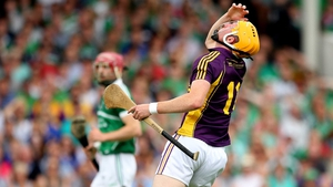Wexford's Podge Doran reacts to a missed chance against Limerick