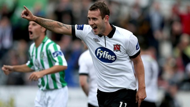 Kurtis Byrne starred in the Dundalk victory