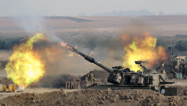 More than 1,040 Palestinians have died in the fighting as well as 43 Israeli soldiers