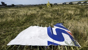 Ukraine officials said black box data showed 'explosive decompression' brought MH17 down