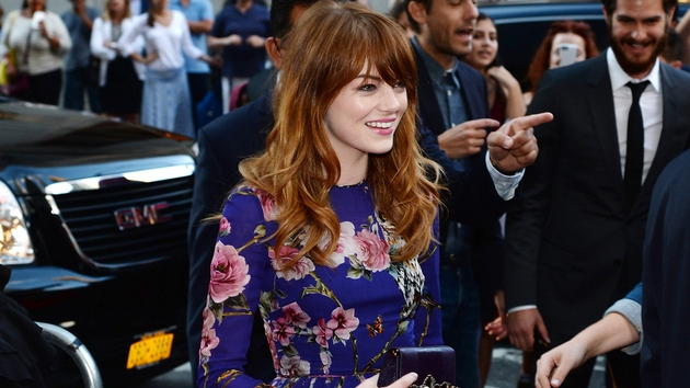 Emma Stone plays a spiritualist in Woody Allen's new comedy